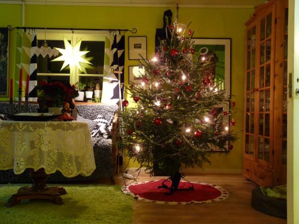 Julgran i Lyckene